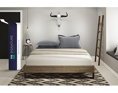 best signature sleep memoir king mattress under 1000