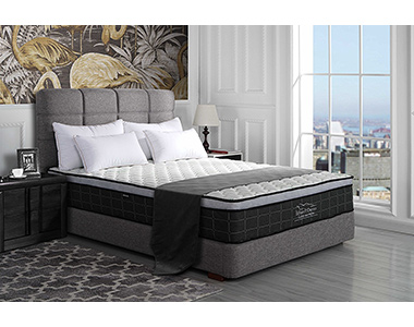 Best Swiss Ortho PLush Pullow Top Mattress for Platform Bed