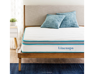 best Linenspa 8 inch mattress for bad hips