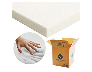 best advanced sleep solutions mattress topper for hip pain