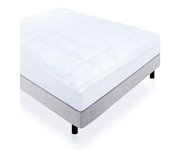 best lucid plush down alternative mattress topper