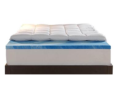 best sleep innovations dual layer foam mattress topper
