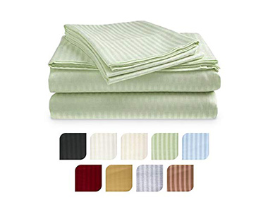 best crystaltowels cotton sateen bed sheets for summer