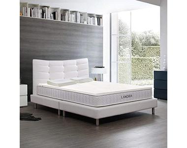 best langria latex topper foam bed