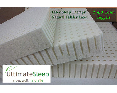 best latex sleep therapy topper