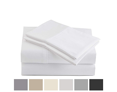 best peru pima percale cotton bed sheets for summer